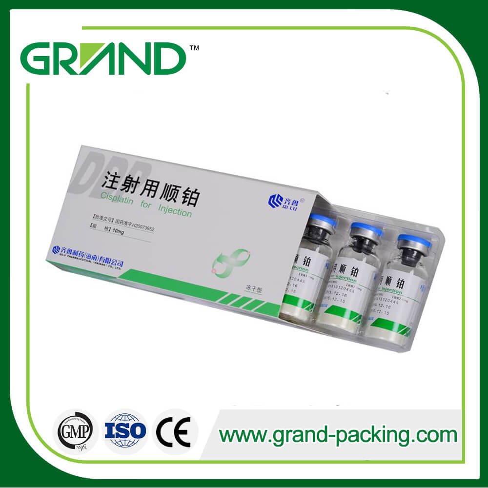 JDZ - 260P 자동 Ampoule / Vial Cartoning 기계